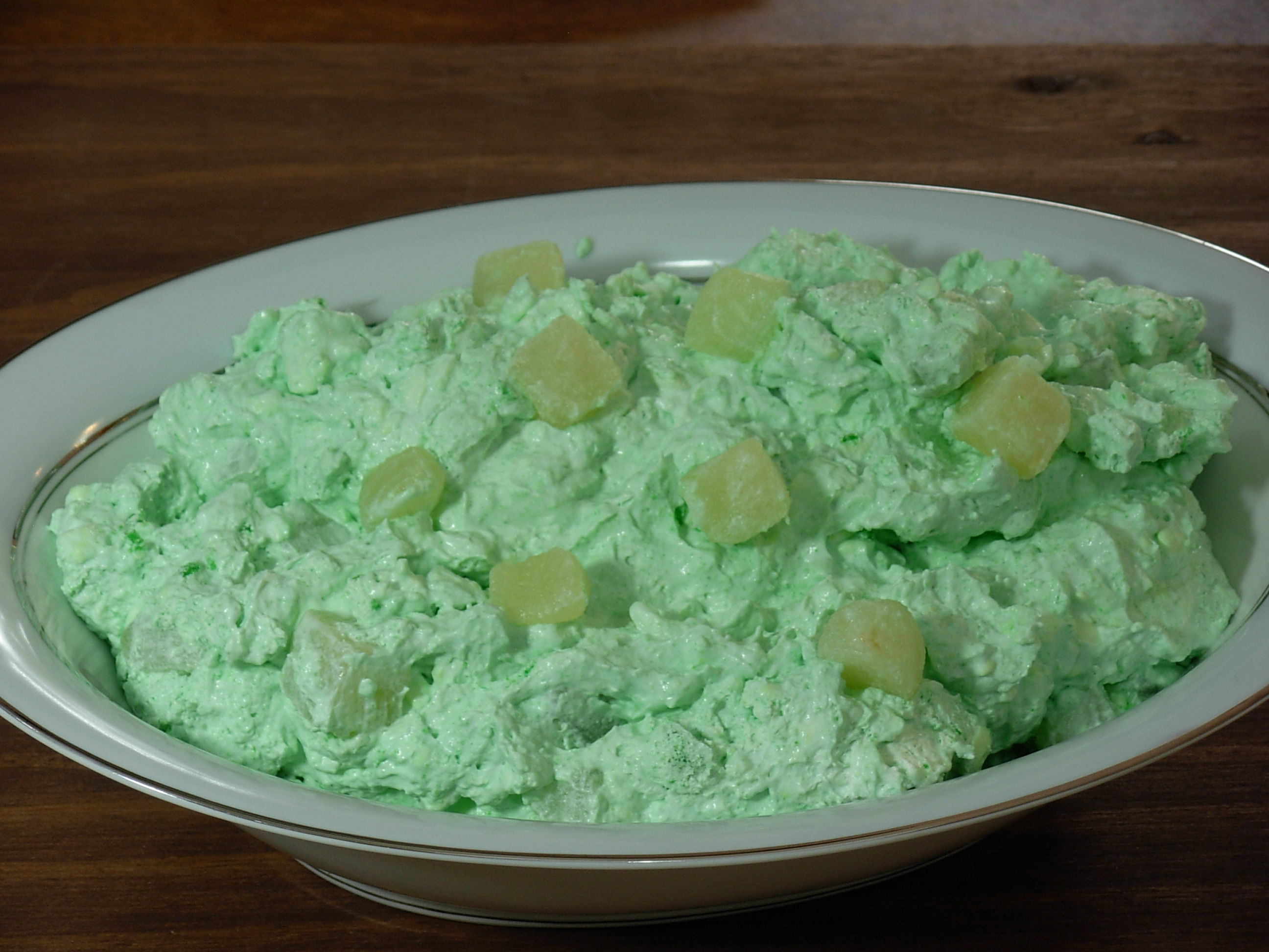 dump salad widower recipes rh widowerrecipes com jello cottage cheese salad recipe dry jello and cottage cheese salad