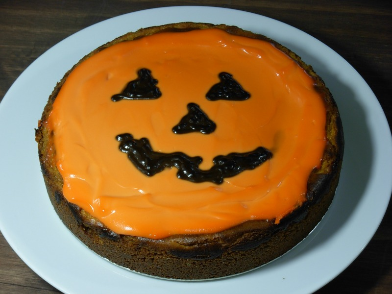 pumpkin cheesecake 004